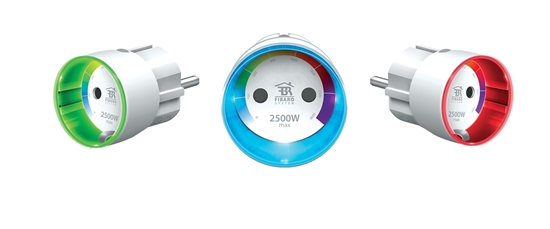 Picture of Set of 3 Fibaro Wall Plugs