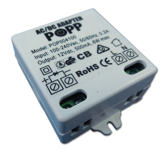 Picture of Popp mains adapter