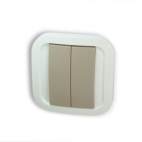 Picture of Z-Wave Plus Wall Switch - White/Grey
