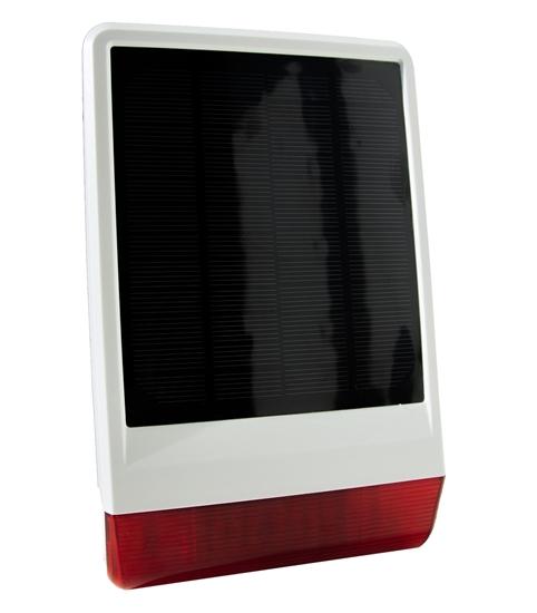 Picture of Z-Wave Outdoor Solar Siren