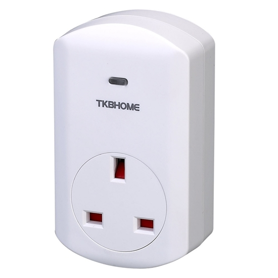 Picture of Atuador on/off de tomada (tipo G) Z-Wave Plus