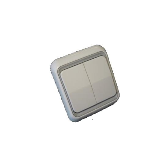 Picture of Interruptor de parede de tecla dupla