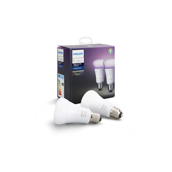 Picture of Philips Hue WCA 10W A60 E27 2P EUR