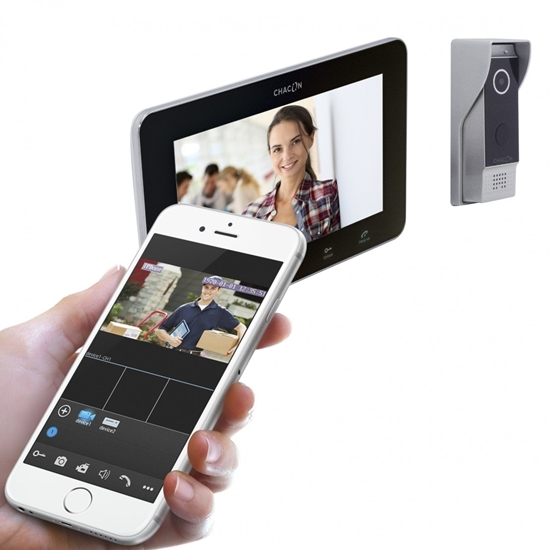 Picture of IP Wi-Fi videophone with screen