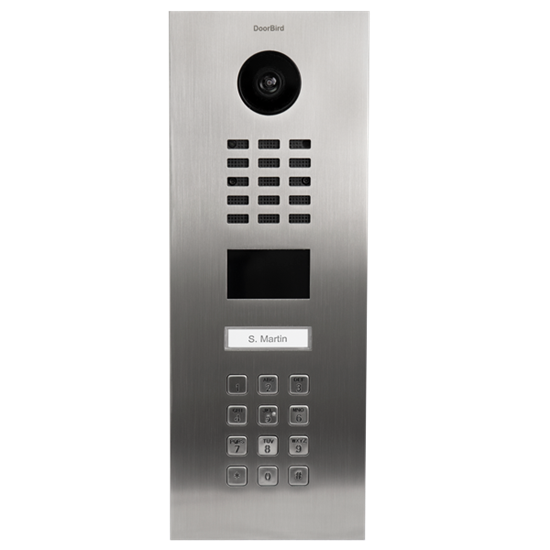 Picture of IP Video Door Station D2101KV for single family homes, stainless steel V2A