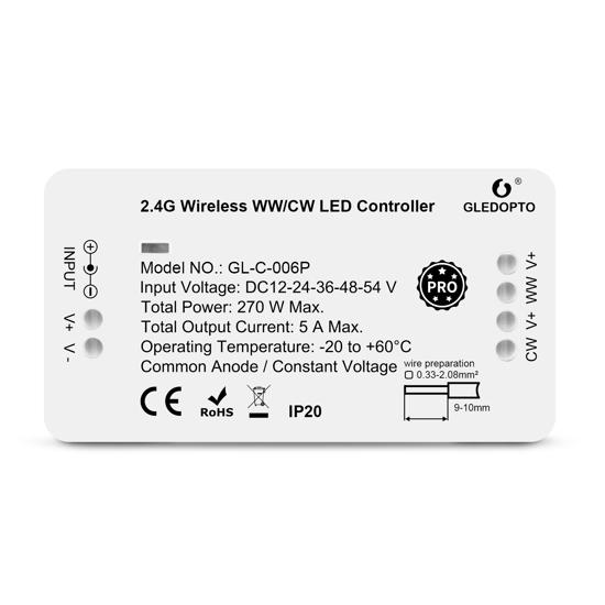 Picture of Controlador para faixa LED CCT