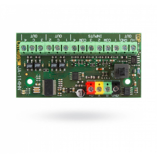 Picture of BUS module 4 inputs + 4 wired outputs